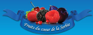 Fruits du coeur de la Serbie